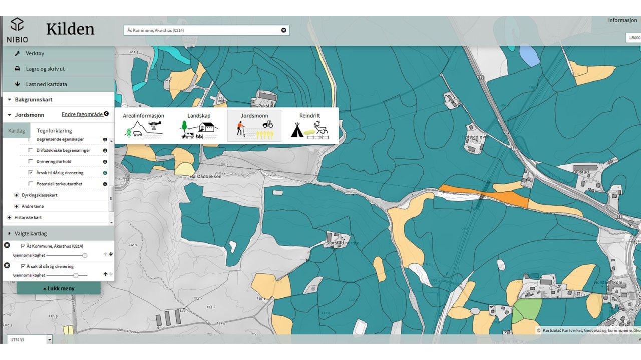 kilden kart Kilden – innsynsløsning fra NIBIO   Nibio kilden kart